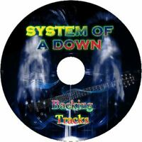 SYSTEM OF A DOWN GUITAR BACKING TRACKS CD BEST GREATEST HITS MUSIC PLAY ALONG