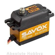 Savox Ultra Speed High Voltage Titanium Gear Digital Servo - SAV-SV-1273TG