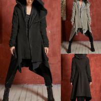 Women's Hooded Jacket Long Fur Collar Warm Winter Parka Coat Overcoat Outwear