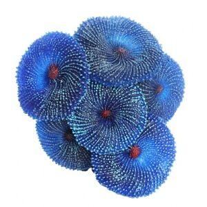 Silicone Plastic Artificial Coral Sea Resin Plant Aquariums Ornament Decoration
