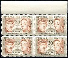 Lot N°4648 France Variété N°1060 2 timbres avec chiffres blancs Neuf ** LUXE