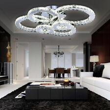 Kristall Deckenlampe Luxus Küche Kaufhaus Esszimmer 96W LED Deckenleuchte