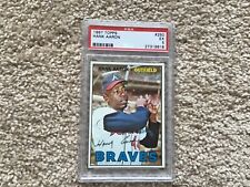 1967 Topps Hank Aaron psa 5 nicely cemtered look at my other Hank Aaron cards