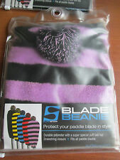 New $25 Surfstow Paddle Blade Beanie w/Drawstring All Blades #50100 Pink Stripes