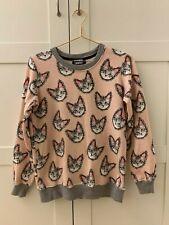 Designer Markus Lupfer cat jumper pullover in pink size S