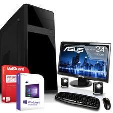 KOMPLETT SET PC System Rechner FX 4300 4x4,0 GHz 8GB WLAN Computer 24 TFT