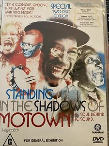 Standing in the Shadows of Motown DVD EB1 2-disks of great soul music! Must see