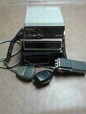 GE two way radio mic PSX-200 power supply Kenwood tk-801s man cave art deco vtg