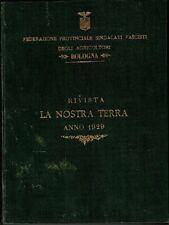 La Nostra Terra. Anno 1929. Rivista quindicinale