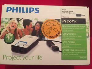 Philips Picopix Projector Ppx2340 Mini Pocket Projector New Boxed Uk Warranty