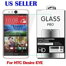 9H Premium Tempered Glass Screen Protector Film For  HTC Desire EYE New