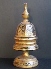 Antique Hsun-ok Offertoire en Bois Birmanie