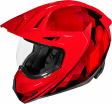 Icon Variant Pro ASCENSION Full-Face Helmet (Red) SM (Small)