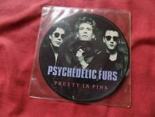 """PSYCHEDELIC FURS Pretty in pink 7"""" PIC DISC NEW WAVE EX"""