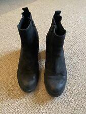 Black Vagabond Boots - Size 39