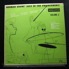 Norman Granz - Jazz At The Philharmonic Vol 3 LP VG+ MG Vol. 3 DS Martin Artwork