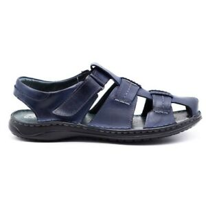 Polbut Sandales SA07 bleu marine