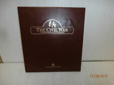 The Civll War Commemorative Folio Postal Stamps -Complete set (10)