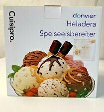 Cuisipro donvier  Ice Cream Maker, 1-Quart, White NEW !