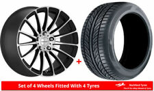 Aluminium Inovit One Piece Rim Wheels with Tyres