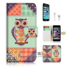 ( For iPhone 8 Plus / iPhone 8+ ) Case Cover P0648 Owl