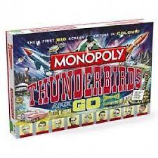 Thunderbirds Retro Monopoly Family Board Game