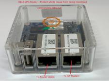IPSec IKEv2 VPN Router 12 months VPN service. Secure your complete home network!