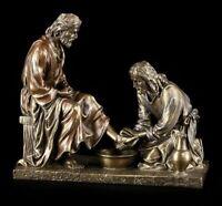Gesù Figura - Mandatum - la Lavanda Dei Piedi - veronese Santo Statua Decorativa