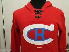 Montreal Canadiens Youth 2016 Reebok Red NHL Winter Classic  Hooded Sweatshirt