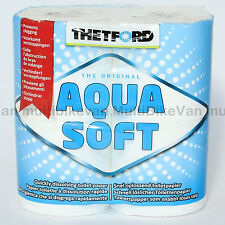Aqua KEM Soft Camping Toilettenpapier  WC  Papier Thetford Toilette Boot Womo