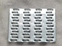 "Lot of (100) MiTek - MT20 (20 gauge) - 3"" x 4"" TRUSS PLATE - MENDING PLATE - NOS"