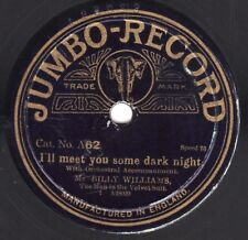 "10"" 78 Williams, Billy Mr. ""I'll Meet You"" / Tickle Me, Timothy JUMBO-RECORD A62"