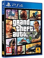 GTA 5 V GRAND THEFT AUTO 5 V ps4 PLAYSTATION 4 gioco Uncut tedesco Merce Nuova