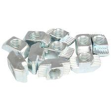 100x Hammermutter Nut 10 - Typ B - Steg 3,0 mm, Stahl verzinkt