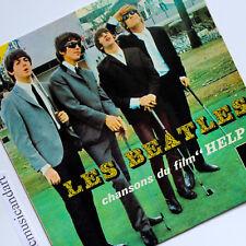 "LES BEATLES THE RARE GOLFING COVER HELP 7"" VINYL EP 1965 FRANCE GOLF VERY RARE"