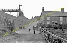 Micklefield Railway Station Photo. Garforth to Church Fenton. (7)