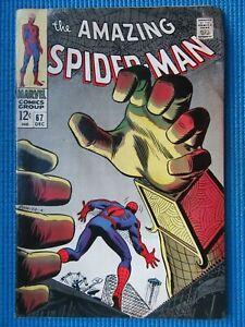 AMAZING SPIDER-MAN # 67 - (FINE) -MYSTERIO -1ST RANDY ROBERTSON- GWEN STACY