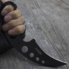 "7"" M-TECH USA KARAMBIT TACTICAL NECK KNIFE w/ SHEATH Boot Combat Survival Belt"