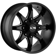 "Ion 181 20x12 6x135/6x5.5"" -44mm Black/Milled Wheel Rim 20"" Inch"