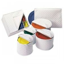 6 Piece Tabletop Quilted Vinyl Dinnerware Storage Set, New, Free Shipping