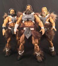 """Marvel Legends Custom 12"""" Storm Giants : Skagg Kjekk Frykt Thor Loki Odin"""