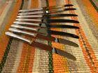 Oneida Community LADY HAMILTON Set of 8 Dinner Knives Silverplate Flatware
