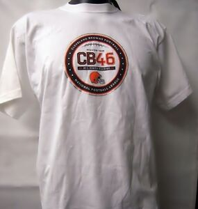 Cleveland Browns, Reebok NFL, Mission Patch Short Sleeve T-Shirt R200A