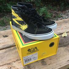 Vans x Bad Brains X Sk-8 Hi Yellow Black Size 10 hosoi wtaps syndicate