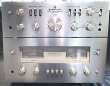 RARE Vintage Kenwood 700C and 700M Preamplifier and Power Amplifier Combo 70's