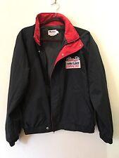 Vintage Kellogg's Corn Flake Racing Men's Black Jacket 1992 Size L
