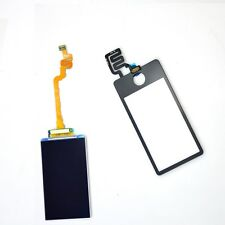 Black for iPod NANO 7th LCD Screen Touch Digitizer Front Screen Glass Panel New