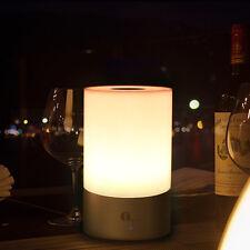 RGB LED Tischlampe Effekt Lampe Nachttischlampe Farbwechsel Tischleuchte Dimmbar
