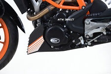 R&G RACING BLACK LHS Engine Case Cover KTM 390 Duke (2017 ECC0224BK
