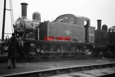 PHOTO  1959 J69 LOCO AT STRATFORD NO 68619 AT STRATFORD MOTIVE POWER DEPOT
